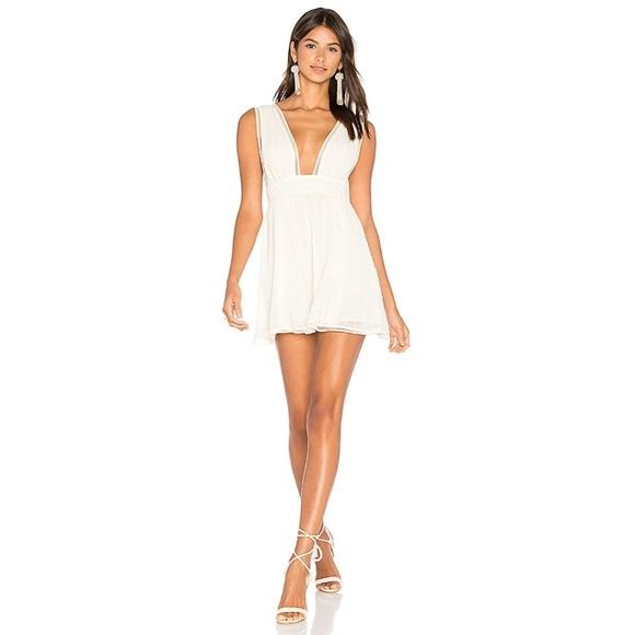 NBD Dresses & Skirts - NBD Revolve Isaac Dress Swiss For Plunge Neckline